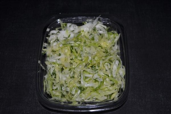 Салат из капусты с зеленью 150гр - фото 4637