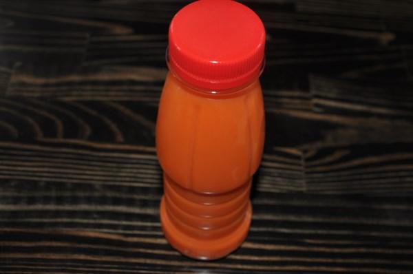"""Сок свежевыжатый овощной """"Морковный"""" 250 гр - фото 4688"""