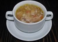 Суп крестьянский с крупой и курочкой 200 гр