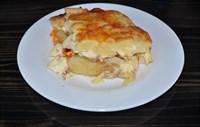 Картофель запеченый с курочкой 125 гр