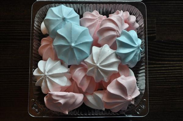 Печенье Воздушное Мини Цветное 70 гр - фото 4667