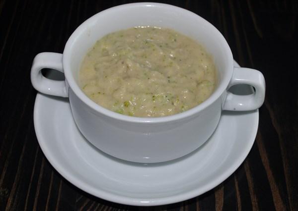 Суп-пюре из брокколи и цветной капусты 200 гр - фото 4966
