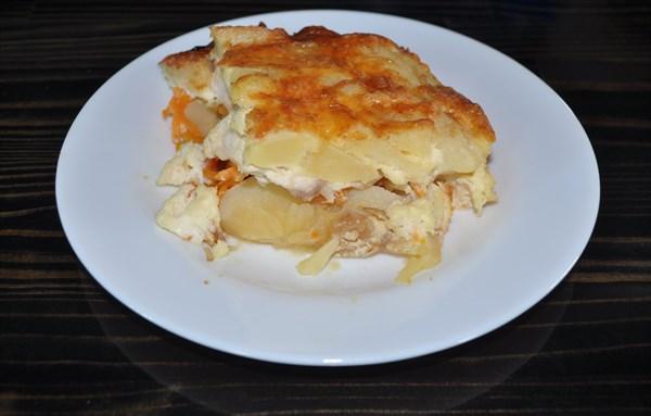 Картофель запеченый с курочкой 125 гр - фото 5245