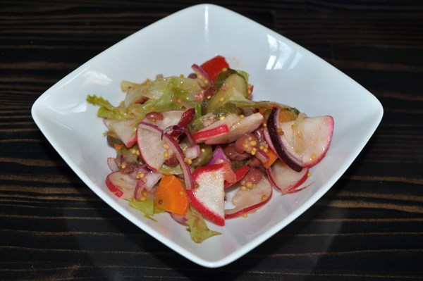Салат Вегетарианский 120 гр - фото 5252