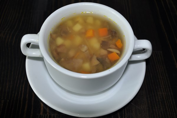 Суп картофельный с грибами 220 гр - фото 5253