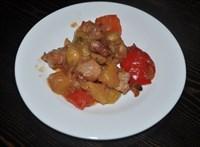 Курица по-тайски с ананасами 125 гр