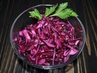 Салат из краснокочанной капусты с яблоками 125 гр