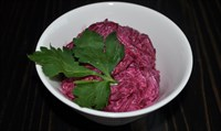 Салат свекла с чесноком 125 гр