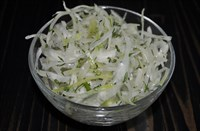 Салат из свежей капусты с зеленью 150 гр